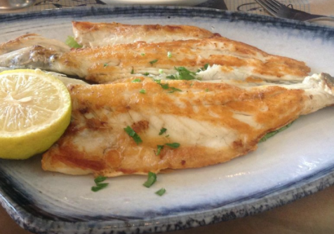 PERFECTLY FRIED FISH OF THE DAY